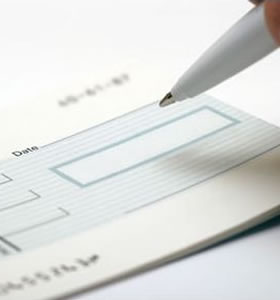 Encashment of fraudulent cheques