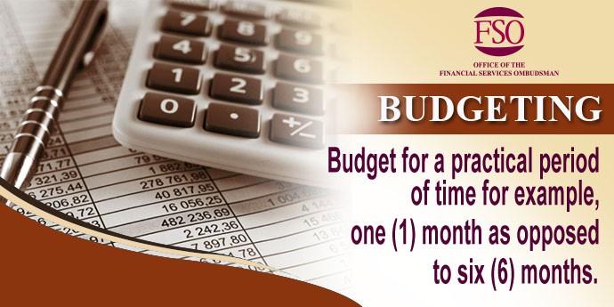 Budgeting tip3
